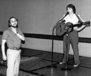 Joanna Cazden and Brian Toby