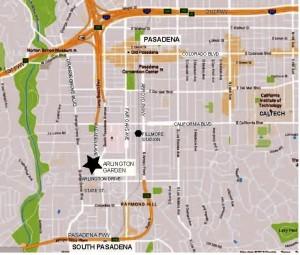 Arlington Garden mapa